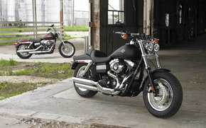 Harley-Davidson, Dyna, Dyna Super Glide FXDC Niestandardowy, Dyna Super Glide FXDC zwyky 2008, Moto, motocykle, moto, motocykl, motocykl