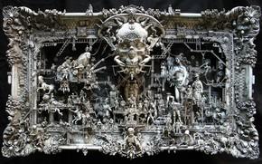 sculpture, picture, Life