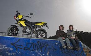 Derbi, Supermotard, DRD Evo 50 SM, DRD Evo 50 SM 2008, Moto, Motorrder, moto, Motorrad, Motorrad