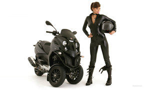 Gilera, Scooter, Fuoco, Fuoco 2007, мото, мотоциклы, moto, motorcycle, motorbike