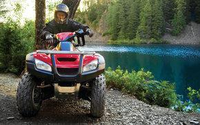 Honda, VTT, FourTrax Rincon, FourTrax Rincon 2006, Moto, Motos, moto, moto, moto