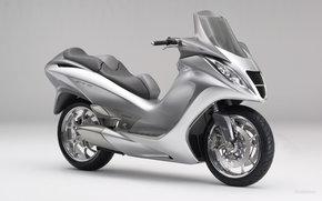 Honda, Concept, E4-01, E4-January 2005, Moto, Motorcycles, moto, motorcycle, motorbike