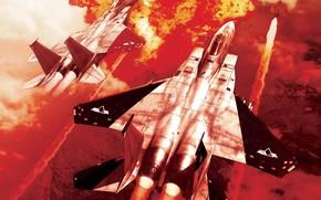 война, ракета, истребитель