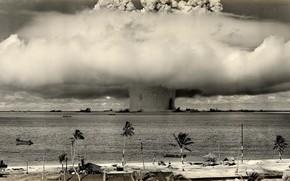 esplosione nucleare, esplosione onda, arma
