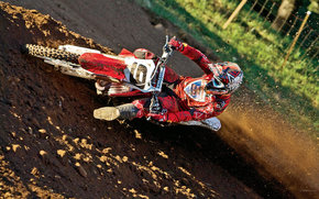 Honda, Motocross, CRF450R, CRF450R 2009, мото, мотоциклы, moto, motorcycle, motorbike