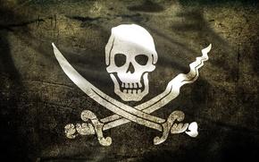 bandiera, Pirati