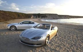 Sand, Wellen, Strand, Auto