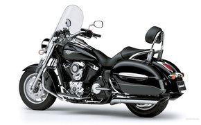 Kawasaki, Cruiser, VN1700 Classic Tourer, VN1700 Classic Tourer 2007, Moto, Motorcycles, moto, motorcycle, motorbike