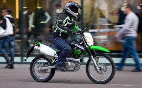 Kawasaki, Enduro, KLX125, KLX125 2010, мото, мотоциклы, moto, motorcycle, motorbike