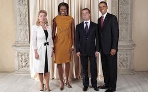sonrer, EE.UU., Rusia, Medvedev, Obama
