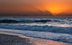 mare, costa, Grecia