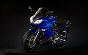 Kawasaki, Dello sport, ER-6F, ER-6F 2009, Moto, motocicli, moto, motocicletta, motocicletta