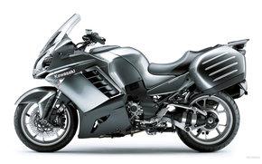 Kawasaki, Tourer, 1400 GTR, 1400 GTR 2009, Moto, motocicli, moto, motocicletta, motocicletta