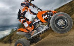 KTM, ATV, 450 SX ATV, 450 SX ATV 2009, Moto, motocicli, moto, motocicletta, motocicletta
