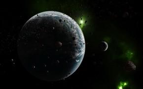 planeta, Espacio, Asteroides
