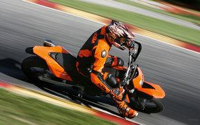 KTM, Supermoto, 690 LC4 SMC, 690 LC4 SMC 2008, мото, мотоциклы, moto, motorcycle, motorbike