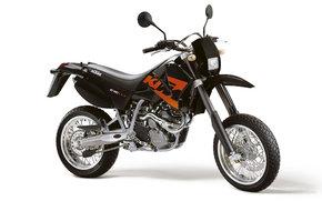 KTM, Supermoto, 640 LC4 Supermoto, 640 LC4 Supermoto 2004, мото, мотоциклы, moto, motorcycle, motorbike