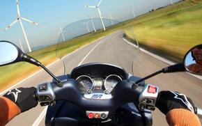 Piaggio, Mp3, MP3 Hybrid, MP3 Hybrid in 2009, Moto, Motorcycles, moto, motorcycle, motorbike