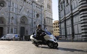 Piaggio, Mp3, MP3 Hybrid, MP3 Hybrid 2009, Moto, motocykle, moto, motocykl, motocykl