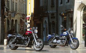 Triumph, Cruiser, America, America in 2003, Moto, Motorcycles, moto, motorcycle, motorbike