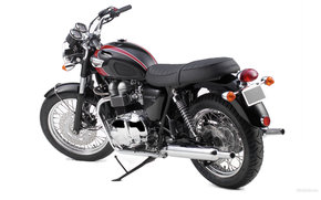 Triumph, Modern Classic, Bonneville T100, Bonneville T100 2006, Moto, Motorcycles, moto, motorcycle, motorbike