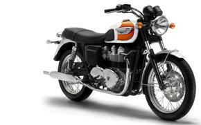 胜利, 现代经典, 邦纳维尔T100, 2005年邦纳维尔T100, 摩托, 摩托车, 摩托, 摩托车, 摩托车