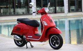 Vespa, GTS, GTS 125, GTS 125 2009, Moto, motocykle, moto, motocykl, motocykl