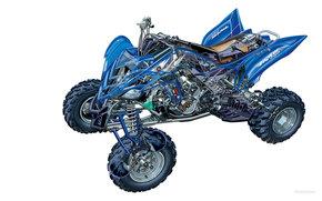Yamaha, ATV, Raptor 700R, Raptor 700R 2006, мото, мотоциклы, moto, motorcycle, motorbike