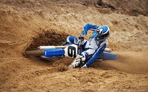 雅马哈, 越野摩托车, YZ450F, YZ450F 2007, 摩托, 摩托车, 摩托, 摩托车, 摩托车