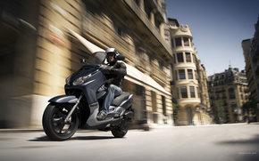 Yamaha, Scooter, X-Max 125, X-Max 125 2008, мото, мотоциклы, moto, motorcycle, motorbike