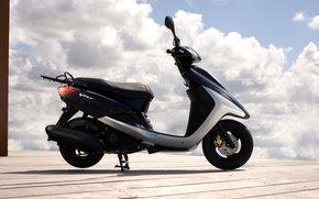 Yamaha, Scooter, Vity, Vity 2008, мото, мотоциклы, moto, motorcycle, motorbike