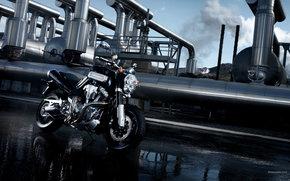 Yamaha, Super Sport Touring, MT-01, MT-Janvier 2005, Moto, Motos, moto, moto, moto