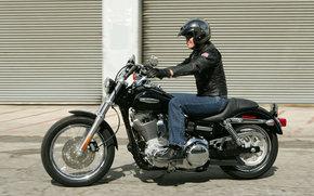 Harley-Davidson, Dyna, Dyna Super Glide FXDC Niestandardowy, Dyna Super Glide FXDC zwyky 2007, Moto, motocykle, moto, motocykl, motocykl