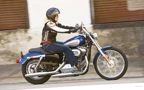 Harley-Davidson, Sportster, XL 1200 C Sportster Custom, XL 1200 C Sportster Custom 2009, Moto, Motorcycles, moto, motorcycle, motorbike
