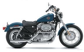 Harley-Davidson, Sportster, XLH 883 Sportster Hugger 883, XLH 883 Sportster Hugger 883 2002, Moto, Motorrder, moto, Motorrad, Motorrad