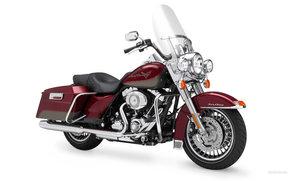 Harley-Davidson, Touring, FLHR Road King, FLHR Road King 2009, мото, мотоциклы, moto, motorcycle, motorbike