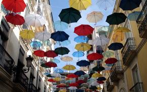 strada, Ombrelli