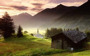 villaggio, Austria