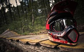 freeride, шлем, велосипед, байк