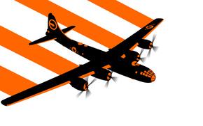 самолёт, бомбардировщик, вектор