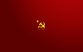 USSR, symbol, hammer and sickle, star, red