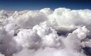 небо, облака, атмосфера
