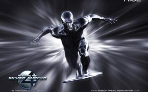 Фантастическая четверка: Вторжение Серебряного серфера, 4: Rise of the Silver Surfer, film, movies