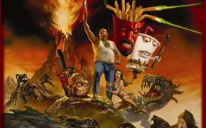 Команда Фастфуд, Aqua Teen Hunger Force Colon Movie Film for Theaters, film, movies