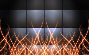 квадраты, линии