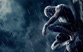 Spiderman, film, spiderman, loneliness