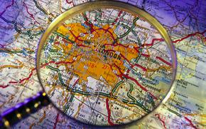London, map