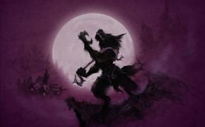 loup-garou, lune