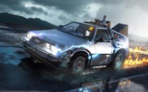 Retour vers le futur, The Time Machine, DeLorean