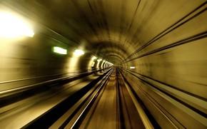 tunnel, Metro, rate
